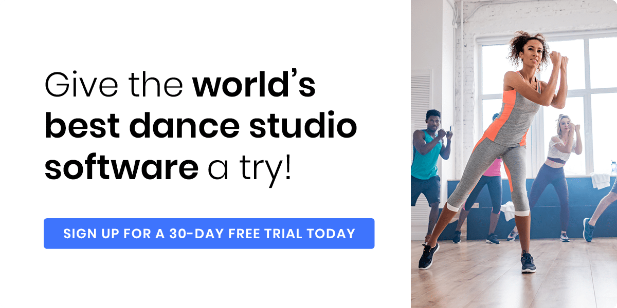 Get started with our powerful dance studio software today.