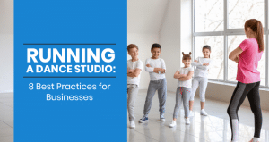 This is the feature image for this article about running a dance studio.