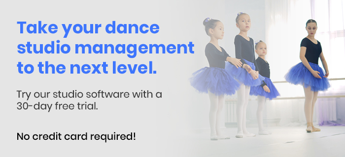 Run your dance studio more efficiently with studio management software! Click here for a 30-day free trial of DanceStudio-Pro.