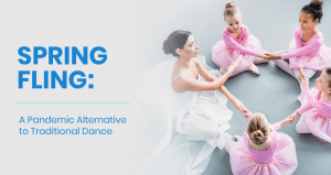 This is the feature image for this article about the spring fling dance program.