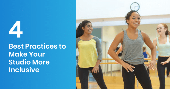 This is the feature image for this article about creating a more inclusive dance studio.