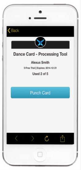 dance card processing tool